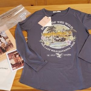 SPIRIT OF THE WILDERNESS RAGLAN  Large Sold Out